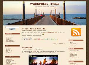 Sea edge wp template